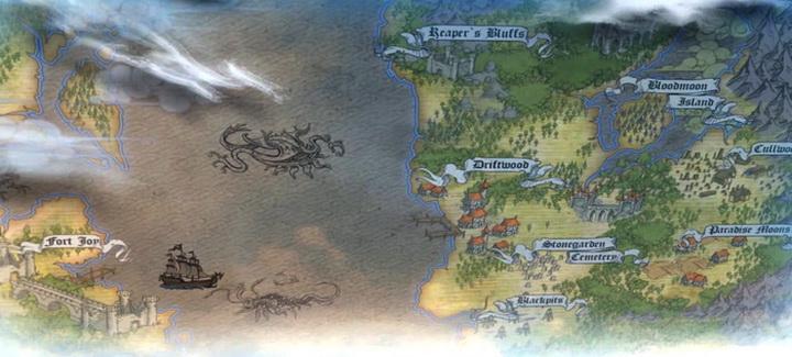 Divinity Original Sin 2. Глобальная карта игрового мира