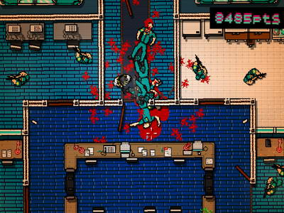 Hotline Miami. Assault
