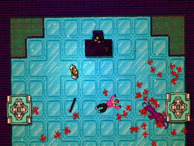Hotline Miami. Showdown