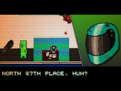 Hotline Miami. Prank Call
