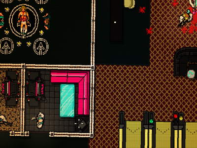 Hotline Miami. Highball