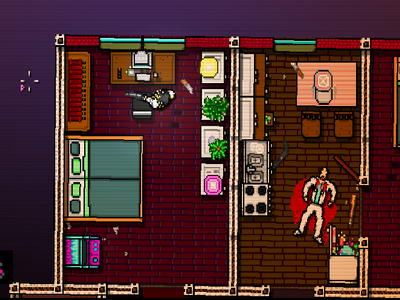 Hotline Miami. Neighbors