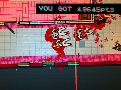 Hotline Miami. Crackdown