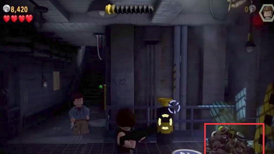 Lego Jurassic World. ДНК 4