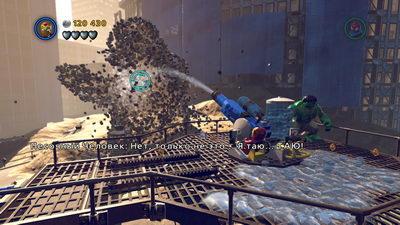 Lego Marvel. Босс: Песочный человек