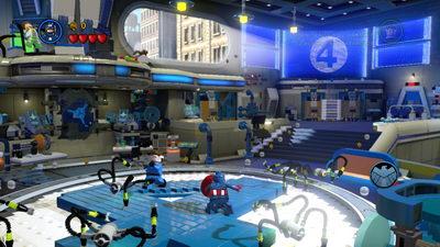 Lego Marvel. Лаборатория