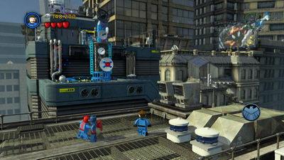 Lego Marvel. Крыши с пауком