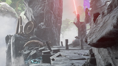 Obduction. 5. Мир Каптар (скалы)