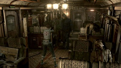 Resident Evil 0. Поезд