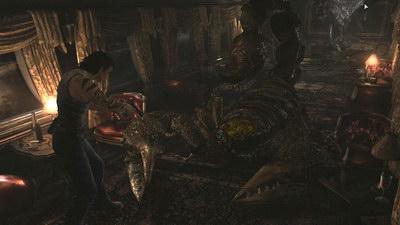 Resident Evil 0. Поезд. Босс: Скорпион