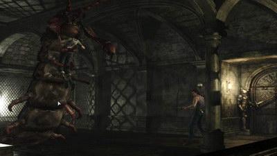 Resident Evil 0. Учебный центр Амбреллы. Гигантская сороконожка