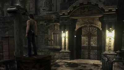 Resident Evil 0. Учебный центр Амбреллы. Двери с символами воды