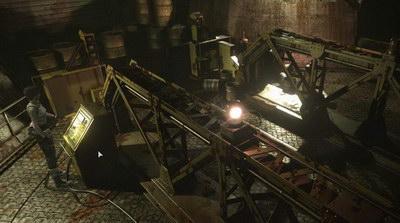 Resident Evil 0. Фабрика. Верхняя площадка