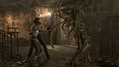 Resident Evil 0. Фабрика. Королева пиявок