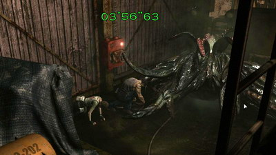 Resident Evil 0. Фабрика. Королева пиявок v2