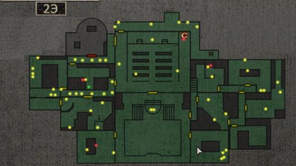Resident Evil 0. Карта пиявок
