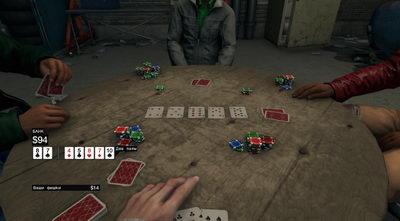 Watch Dogs. Покер