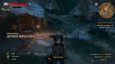 Witcher 3: Wild Hunt. Нильфгаардский связной