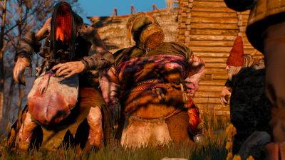 Witcher 3: Wild Hunt. Шепчущий холм