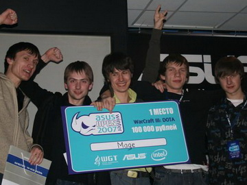DotA Allstars. Russian ASUS Winter Open
