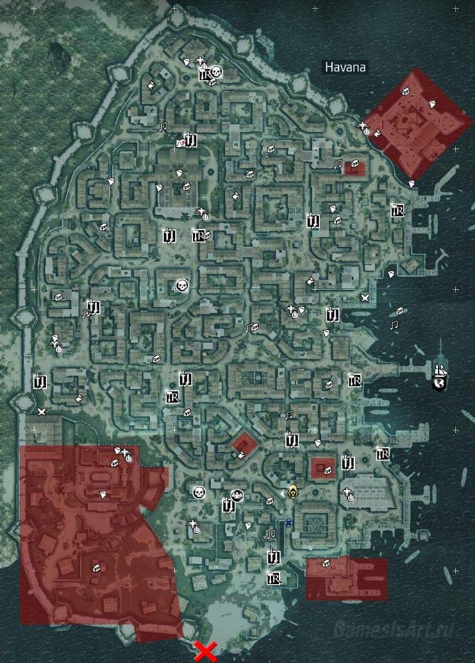 Карту город ассасинов