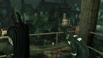 Batman: Arkham Asylum. Западная часть острова