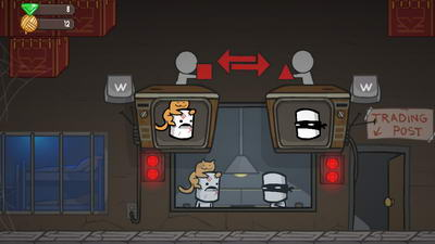 BattleBlock Theater. Обмен