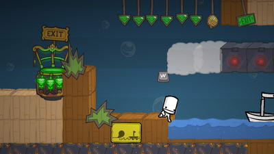 BattleBlock Theater. Структура