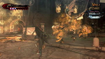 Bayonetta.The Burning Ground