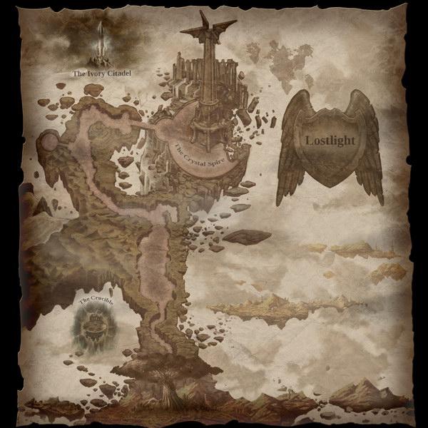 Darksiders 2 Бродячий Камень Карта