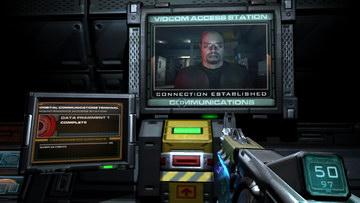 Doom 3. Communications
