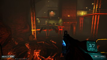 Doom 3. Caverns Area 1