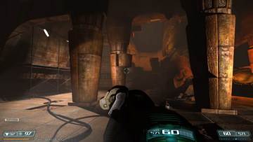 Doom 3. Caverns Area 2