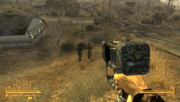 Стрельба в призрачном городе