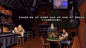 Full Throttle Remastered. Бар
