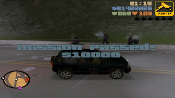 GTA 3. Uzi money