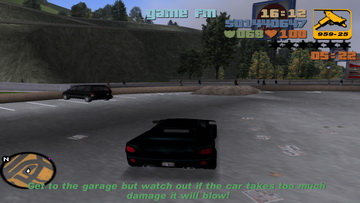 GTA 3. Rigged to blow
