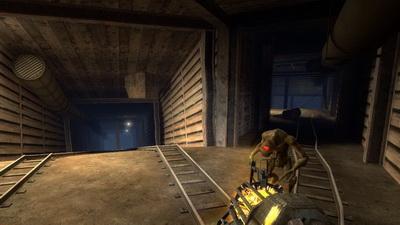 Half Life 2 Episode 2. Поездка на дрезине