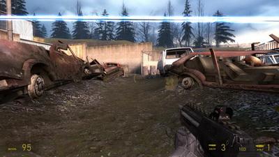 Half Life 2 Episode 2. Пулемет