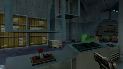 Half-Life: Blue Shift. Два подъемника