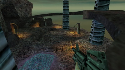 Half-Life: Blue Shift. Focal point