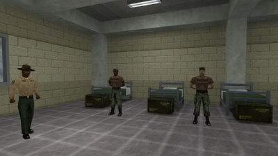 Half-Life: Opposing Force. Boot Camp