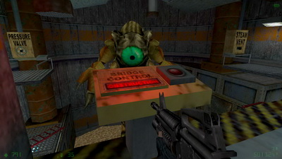 Half-Life: Opposing Force. Pit Worm's Nest