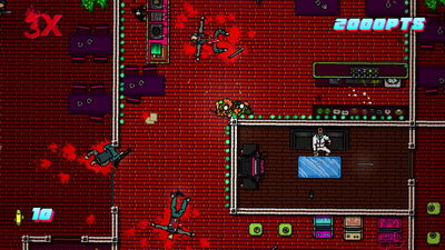 Hotline Miami 2. 2-8 Execution