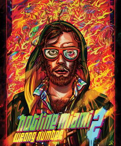 Hotline Miami 2: Wrong Number (обложка)