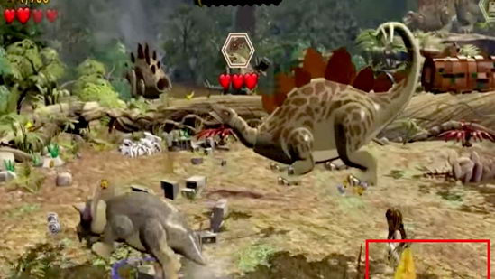 Lego Jurassic World. ДНК 6