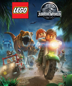 Lego Jurassic World (обложка)