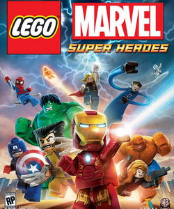 Lego Marvel SuperHeroes (обложка)