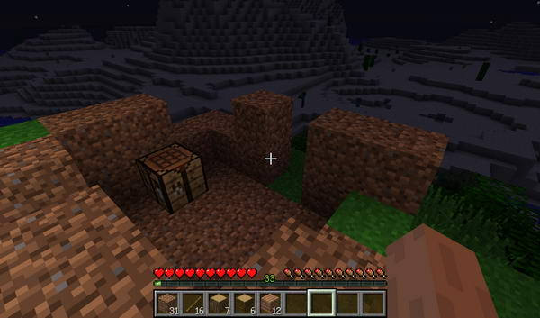 Minecraft. Начало игры. Дом