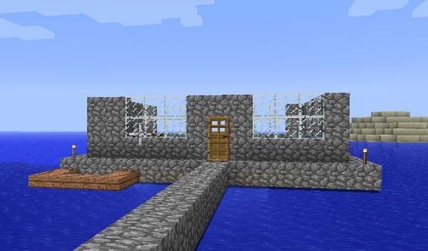 Minecraft. Начало игры. Постройка убежища